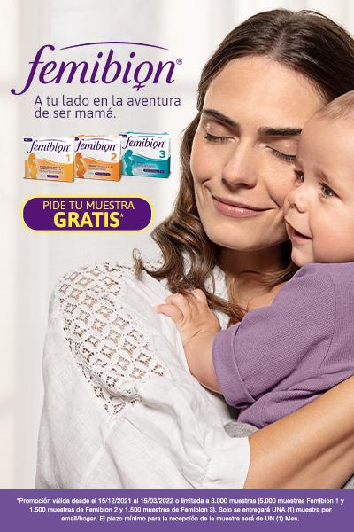 Pide tu muestra gratis de Femibion con metafolin (ácido fólico) para el embarazo.
